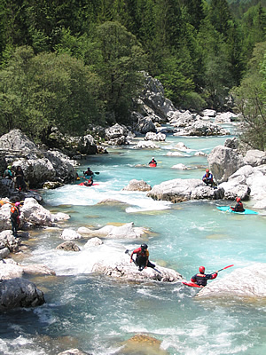 The Bovec Area Is Known Worldwide For Attractive Sports Developed Along Its Beautiful Watercourse Emerald Soca River You Can Experience It By
